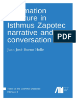 Information structure in Isthmus Zapotec narrative and conversation