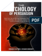 The Psychology of Persuasion and manipulation
