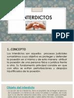 INTERDICTOS