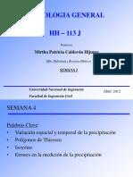 Hidrologia-Capítulo 4 Ingeniería Civil UNI