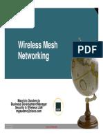 Wireless Mesh Netorking