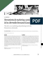 Herramientas Marketing y Posicionamiento de Cibermediosiberoamericanos