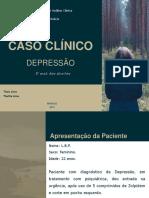 Caso Clínico depressão