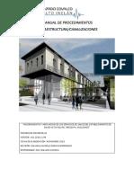Manual de Procedimientos Infraestructura-canalizaciones 1