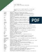 Comandos Windows Carpetas Archivos