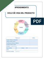 Emprendimiento Ciclo de Vida de un Producto