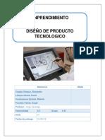 Emprendimiento Diseño de Producto Tecnologico