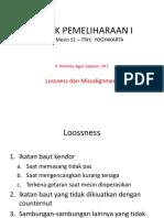 TEKNIK PEMELIHARAAN I - Modul 4.1.pptx