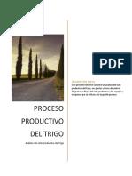 Procesos Productivo Del Trigo