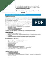 Rubrica Proyecto Final_Ingenieria Financiera_2019