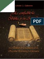 Es confiable la biblia y su autor