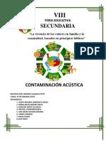 Contaminación Acústica Primera Parte