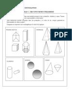 Piramides Rectas de Base Triangular Cuadrada y Rectangular
