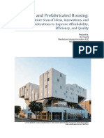Modular Prefabricated Housing Literature Scan