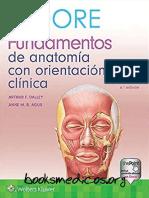 Moore Fundamentos de Anatomia Con Orientacion Clinica 6a Edicion