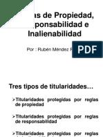 Reglas de Propiedad, Responsabilidad -RUBEN MENDEZ