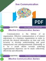 Finals Effective Communication