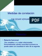 Medidas de Correlacion Covar