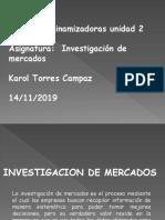 Preguntas Dinamizadoras Unidad 2 Investigacion de Mercados