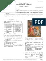 Cbse class 10 sample paper