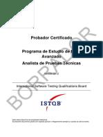Sstqb Avanzado Analista de Pruebas v2012