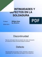 Defectos en La Soldadura Sena Supervisores