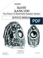 Harman kardon gla 55 service manual