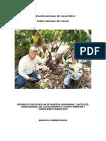 Informe Fedecacao