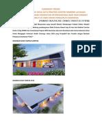 contoh project klinik
