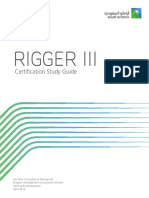 Rigger III Certification Study Guide 2019