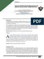 Articulo N° 1 - Deficiencias en la albañileria final en PASCO