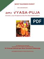 Sdg Vyasa Puja Book 2019