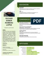 CV Richar Romero Lopez