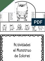 Fichas Mosntruo de Colores PDF
