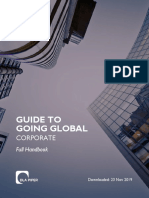 DLA Piper Guide to Going Global Corporate Full Handbook