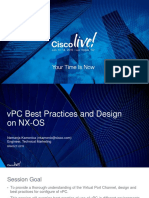 VPC Design Practice BRKDCT-2378