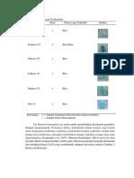 Tabel 3 Pengamatan Uji Barfoed