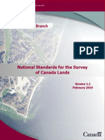 National Standards for the Survey of Canada Lands March 2019