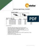 LED Street Light - Luminary - OSRAM - Oct 2014