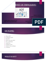 The Internet of Things(Iot)