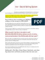 Perry Belcher - Secret Selling System - Nerd Notes