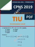 Soal Tiu Tes Cpns 2019 Part 1