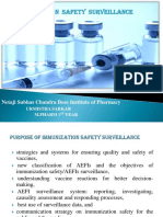 Immunization Safety Surveillance