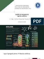 8. Diseño de Pavimentos - Ligantes Asfáticos (1)