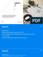 Digital Monetization Platform for IoT