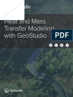 Heat and Mass Transfer Modeling