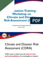 Overview CDRA