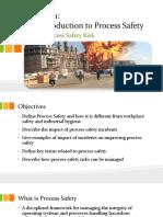 Module 1 Unit 1 Process Safety Risks