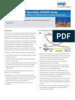 UOP HAZOP Study datasheet.pdf
