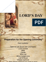 Lords Day Ppt